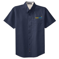 S508 - B287E001 - EMB - Short Sleeve Easy Care Shirt